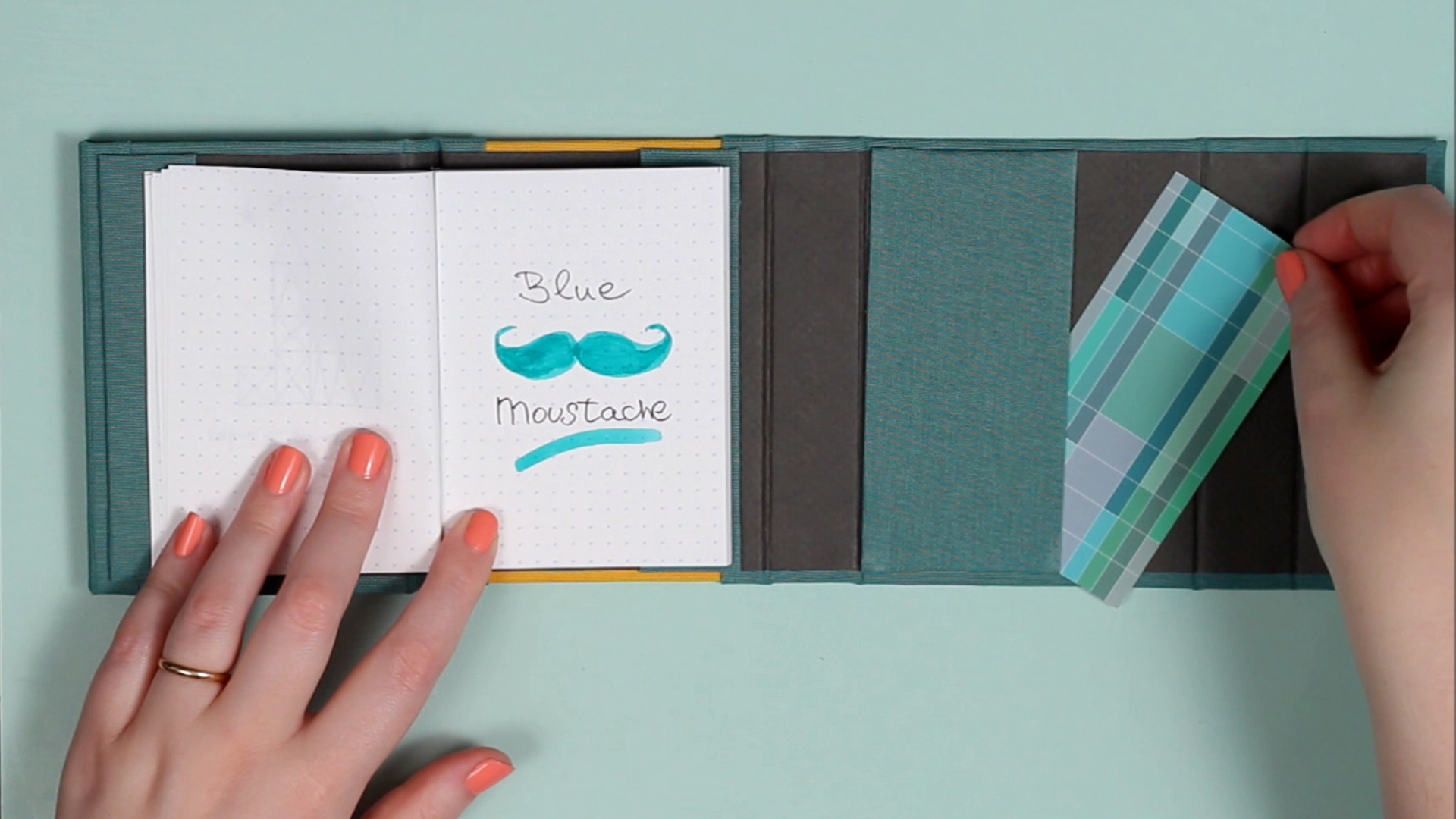 Product design for an innovative paper notebook system for Creative ways to make a book for a project