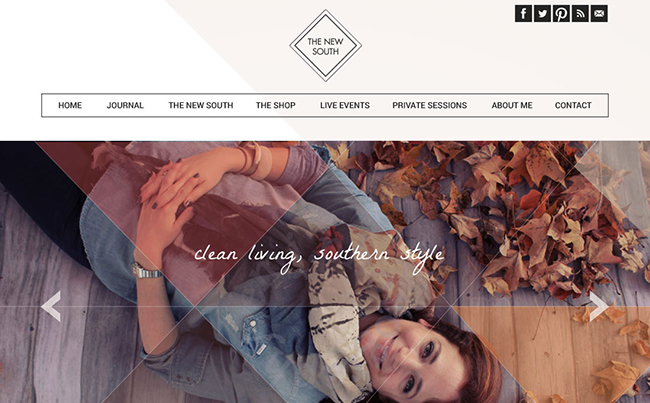 Website Design for a Gorgeous Coach, Dedicated to Clean Living