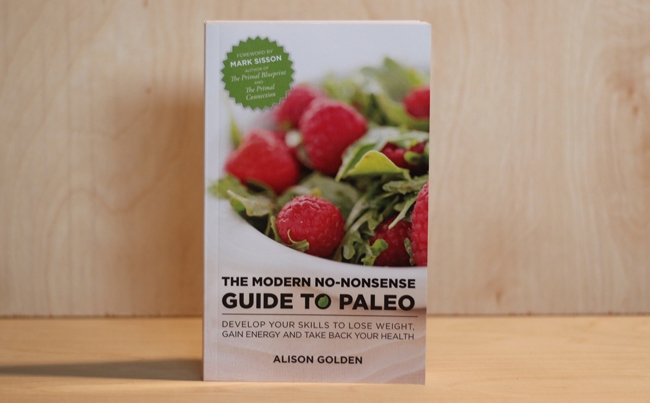 Book Design for a Popular and Practical Paleo Diet Resource