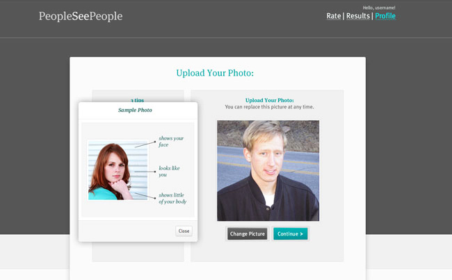 User Experience and Design for an App about How People See One Another