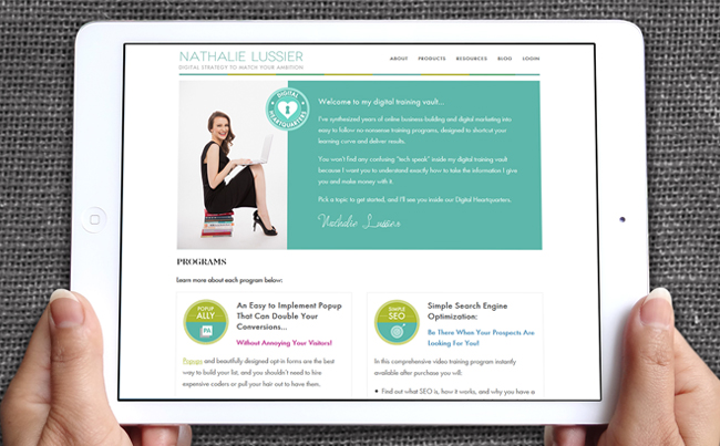 Website Design for a Popular Digital Strategy Brand and Resource