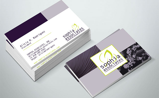 Business Card Design for a Global Collaborative of Professional Coaches & Consultants
