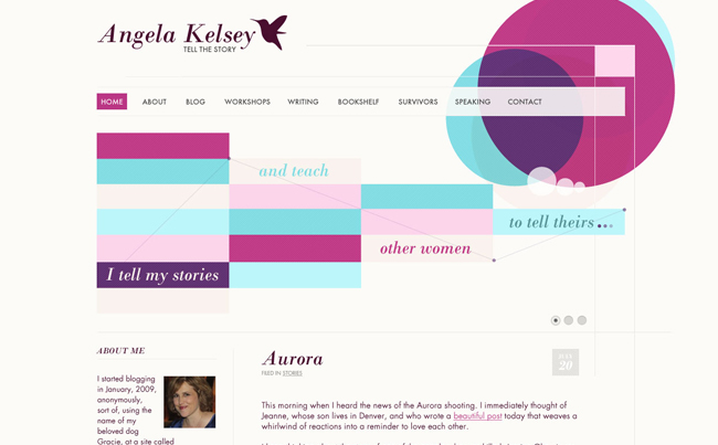 Website Design a Strong Personal Storyteller & Speaker