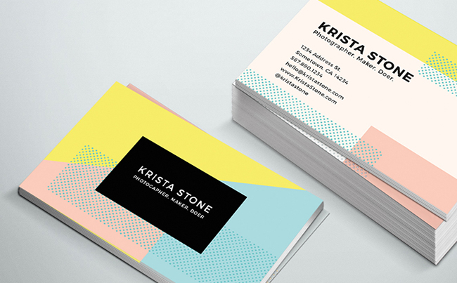 Business Cards for Fun and Playful Personal Brands